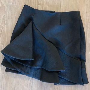 Keepsake Black Ruffle Skirt
